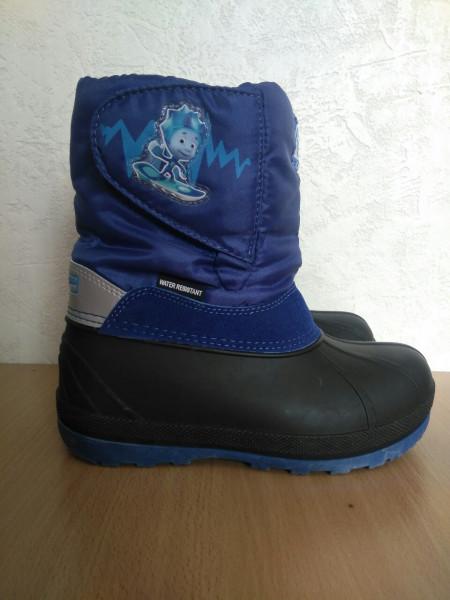 Зимняя детская обувь Фиксики
