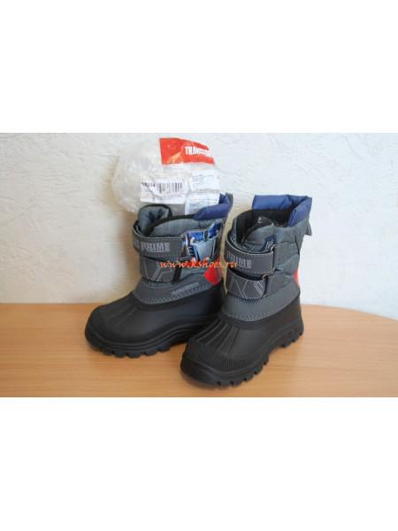 Зимняя детская обувь Transformers