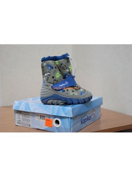 Зимняя детская обувь Капика