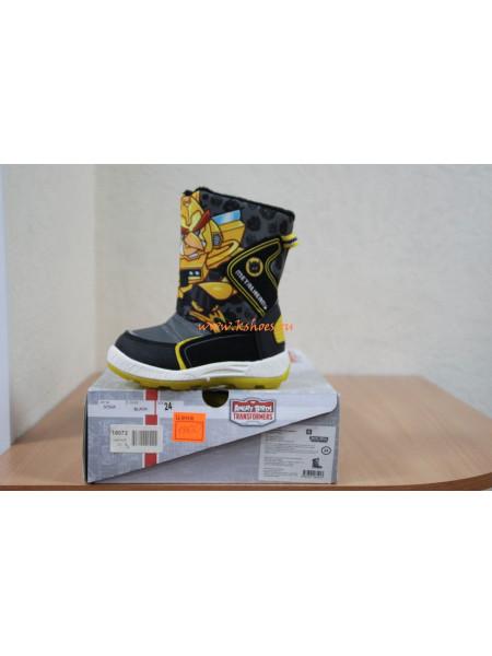 Зимняя детская обувь Angry Birds