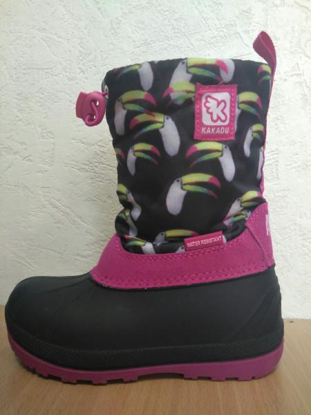 Зимняя обувь для девочки Kakadu Animal Planet