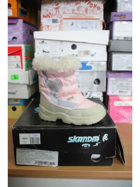 Зимняя обувь для девочки Скандия
